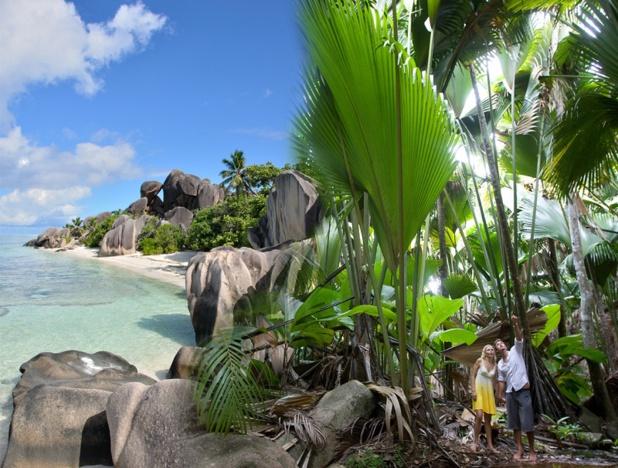 La plage d'Anse Source d'argent aux Seychelles - Photo ONT Seychelles