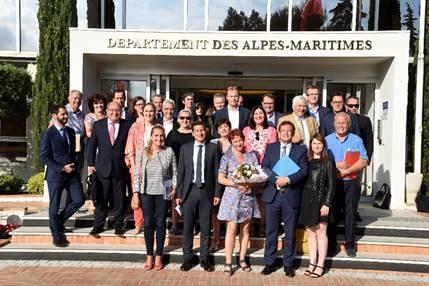 Réélection de David Lisnard à la tête du CRT Côte d'Azur - Crédit photo : CRT Côte d'Azur
