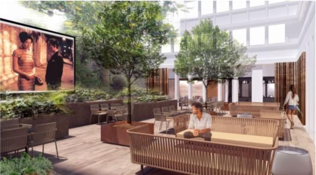 Image Invitation presse Lancement d'un nouvel hôtel 4*, qui va briller sur un quartier en pleine expansion: Le Mercure 17 Batignolles 3D par le Studio ADN