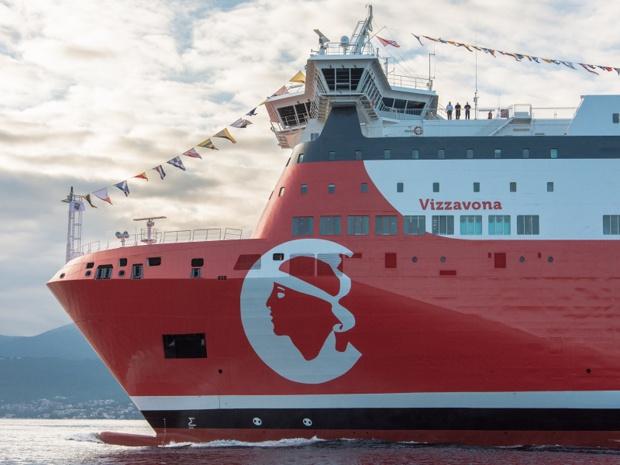 Le Vizzavona, nouveau navire Corsica Linea