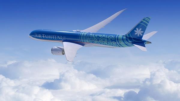 Air Tahiti Nui présente son visuel pour sa  nouvelle flotte Boeing - Crédit photo : Air Tahiti Nui