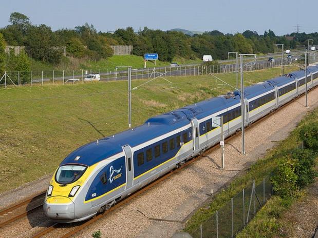 Eurostar - crédit : Kabelleger / David Gubler - wikicommons