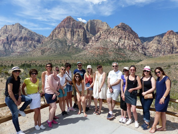 Les Travel Planners ont découvert Las Vegas et le Red Rock Canyon