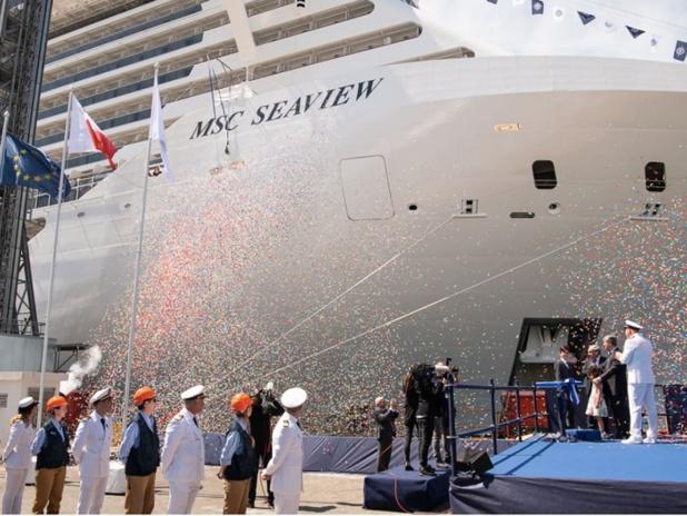 Inauguration du MSC Seaview - crédit MSC Croisières