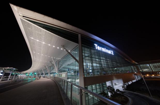 Vue extérieure du nouveau Terminal de Séoul-Inchéon, ouvert ce début d'année 2018 © DR Incheon International Airport