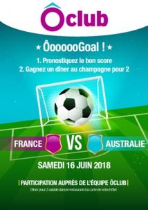 Ôvoyages joue sur la Coupe du monde de football