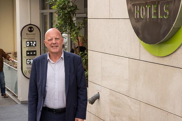 """""""Pour l'hôtel B&B de la Joliette l'investissement est de 2 millions d'euros pour 125 chambres"""" Hervé Bruzac - Crédit photo : RP"""