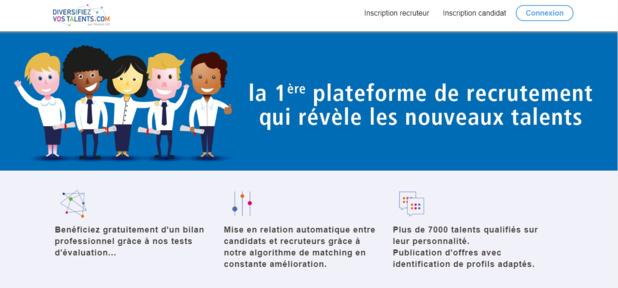 La plateforme Diversifiezvostalents.com a été lancée par Mozaïk RH. - Diversifiezvostalents.com