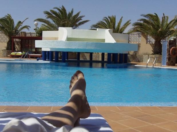 Les Canaries sont en bonne place pour être la première destination de l'été - Photo libre de droit à Fuerteventura