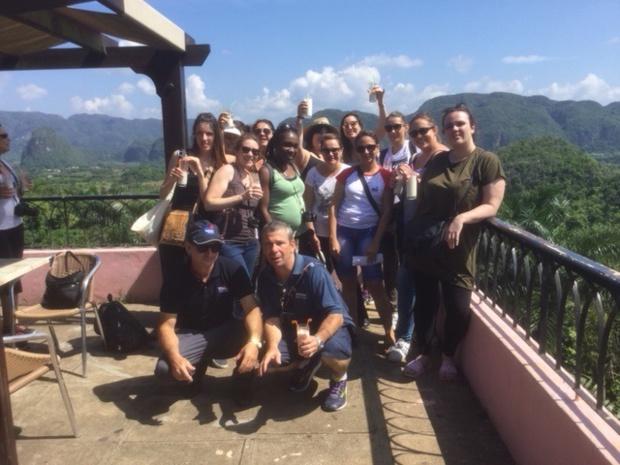 Les agents de voyages à la découverte de Cuba - DR : J.-P.C.