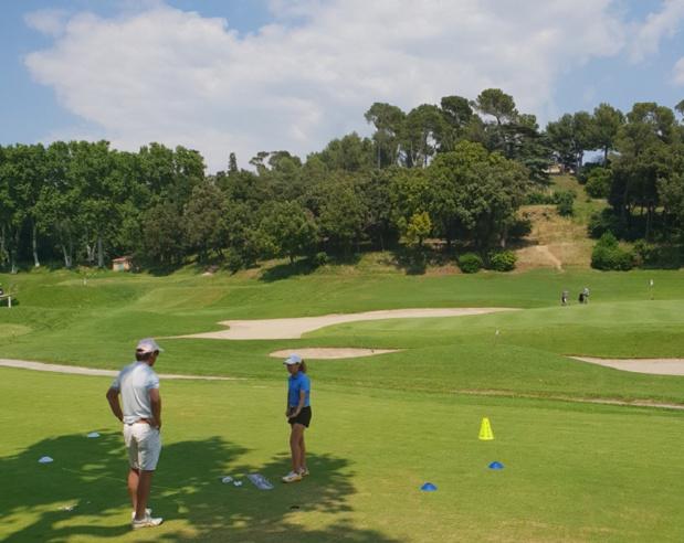 C'est au golf de la Salette, à Marseille, que le CRT a lancé ce mardi 19 juin le Provence Golf Pass. Photo: AR