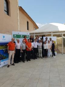 Le CRT et plusieurs directeurs de golfs étaient présents au lancement du Provence Golf Pass. DR: AR