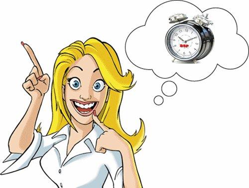 Léa : avant l'heure c'est pas l'heure... après l'heure c'est trop tard !