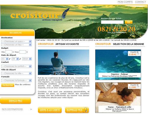 Croisitour met en ligne ses grilles de tarifs
