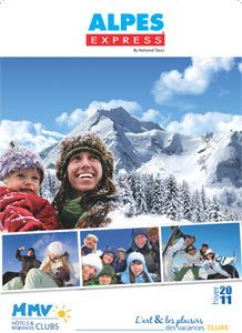 MMV et National Tours éditent une brochure Alpes Express