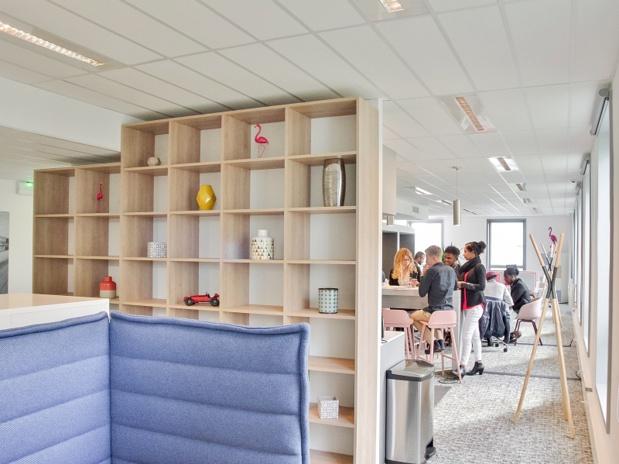 Un espace de coworking à Bordeaux-Mérignac