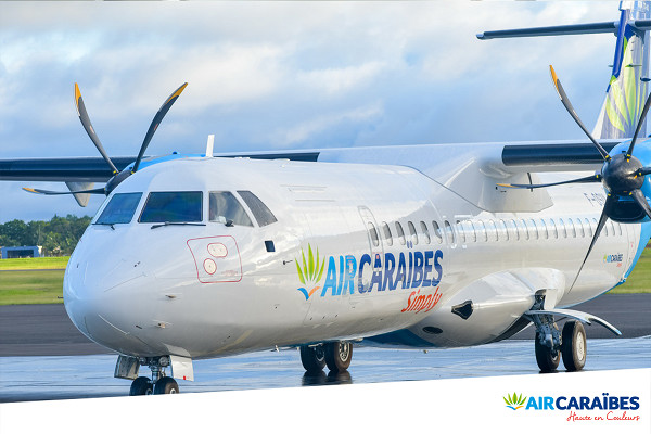 Air Caraïbes ajoute une nouvelle fréquence entre Paris et Cayenne - Crédit photo : Air Caraïbes