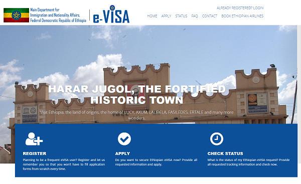 Le site de délivrance de visas électronique - DR