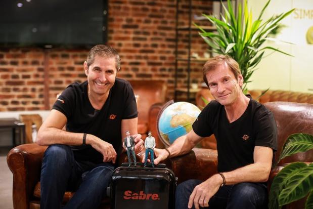 Carlos Da Silva et Nicolas Brumelot fondateur de MisterFly - DR