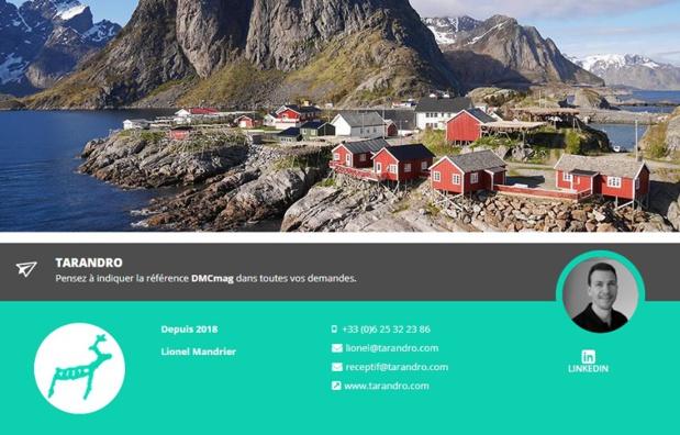 Tarandro, réceptif Scandinavie & Finlande