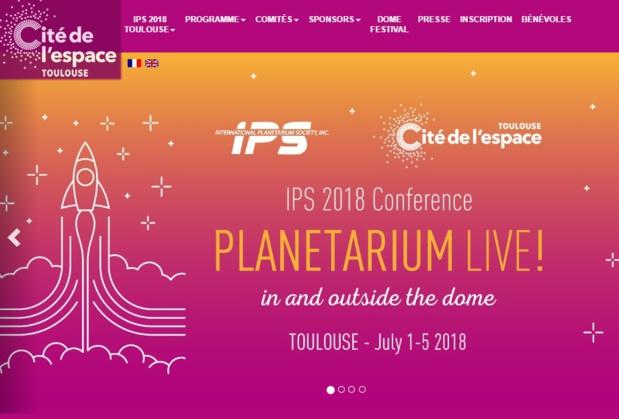 Du 1er au 5 juillet 2018, Toulouse et la Cité de l'espace accueillent pour la première fois en France le Congrès International des Planétariums  - DR
