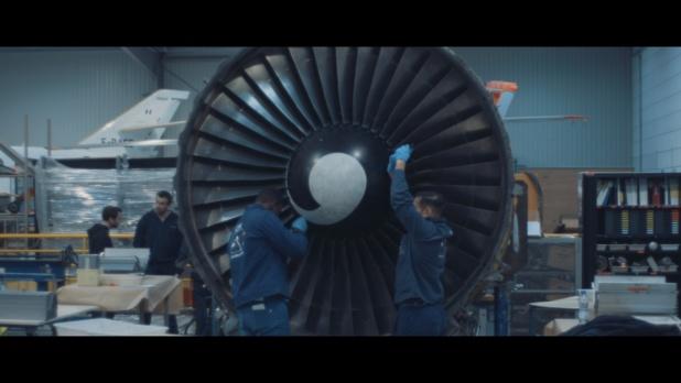 Le CFA des métiers de l'aérien forme au métier de mécanicien aéronautique. - CFA