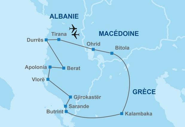 Un nouvel itinéraire Albanie, Macédoine et Grèce proposé par Travel Europe en 2019 - DR