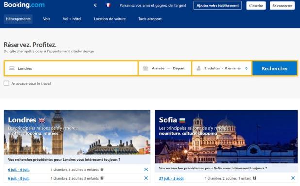 Le contenu de Booking est accessible sur les solutions Sabre - DR