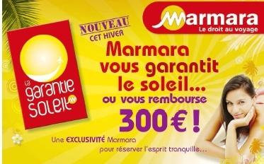Sortez couvert : Marmara lance la Garantie Soleil...