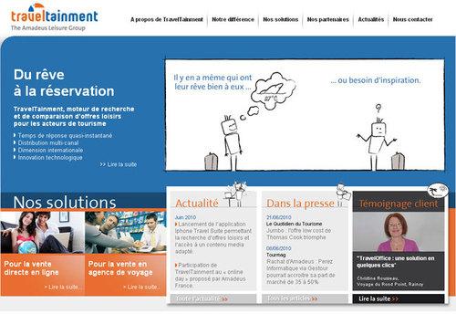 TravelTainment : nouveau site internet pour le marché français