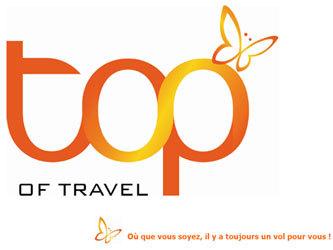 Top Of Travel change de logo