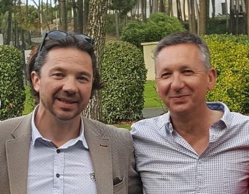 Sébastien Goninet et Laurent Maingot, co-fondateurs de MTO et PTO Travel sponsorisent les Trophées du coeur.