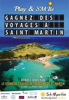 L'OT de Saint-Martin : jeu concours pour les agents de voyages à Top Resa
