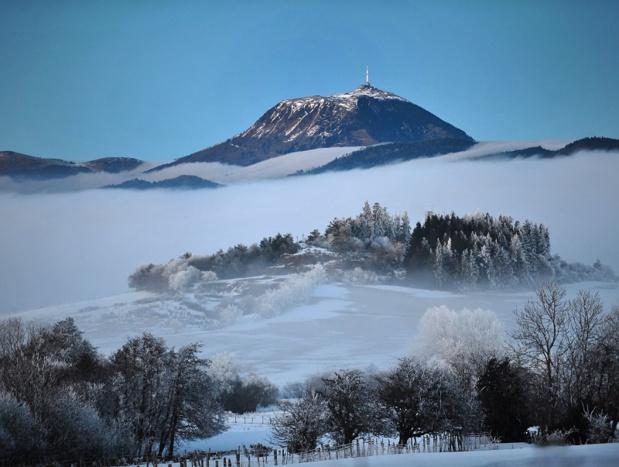 Le Pariou et le Puy de Dôme, beaux et impressionnants en toutes saisons - DR : Pascal Chareyron