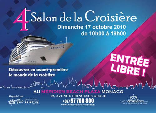Jet Travel Monaco prépare son 4 e Salon de la Croisière