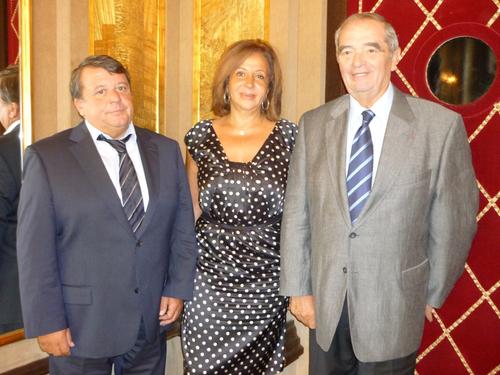 Sylvain Lament, patron de Syltours et vice-pdt de la Commission Production du SNAV, il présidera les 4e Rencontres du SNAV à Louxor. A ses côtés, Nahed Rizk directrice le l'OT d'Egypte pour la France et Georges Colson, pdt du SNAV