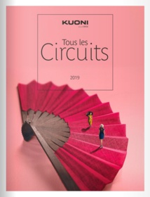 La nouvelle brochure « Tous les Circuits »se divise en quatre gammes : K, Mythique, Best et Expériences - DR : Kuoni