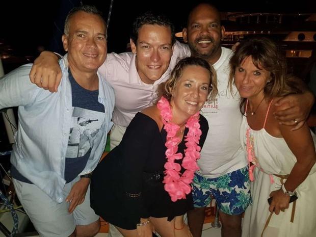 A Cannes, un catamaran a emmené les agents de voyage sur les îles de Lérins - DR