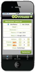 GO Voyages lance une appli iPhone