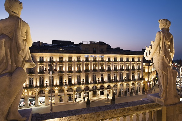 L'Intercontinental de Bordeaux distingué meilleur hôtel de France - Crédit photo : Intercontinental Bordeaux