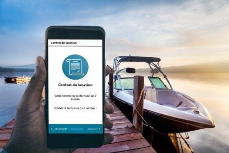 SamBoat dématérialise les réservations nautiques - Crédit photo : SamBoat
