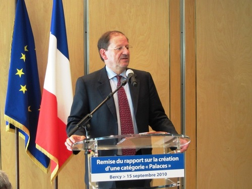 Hervé Novelli confirme la création d'un label Palace
