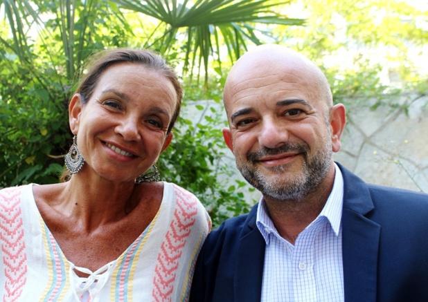 Sandrine de Saint Sauveur CEO d'APG et Eric Didier, Directeur Europe de l'Ouest & Amériques d'Air Astana - DR