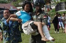 Nias avait été frappée par un tremblement de terre le 28 mars 2005 qui avait fait plus de 900 morts.