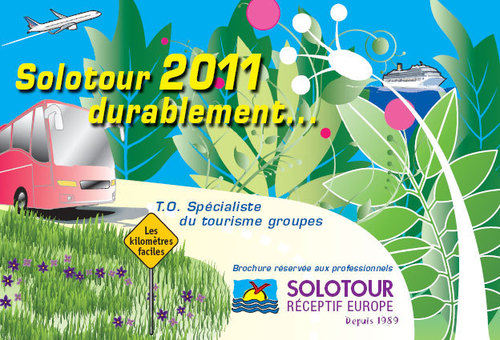 ''Notre brochure 2011 permet d'avoir une large idée des séjours que nous réalisons.''
