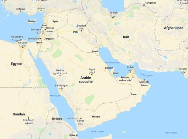 Dès l'obtention du précieux sésame, les voyageurs ont désormais seulement 1 mois pour entrer à Oman. - DR Map