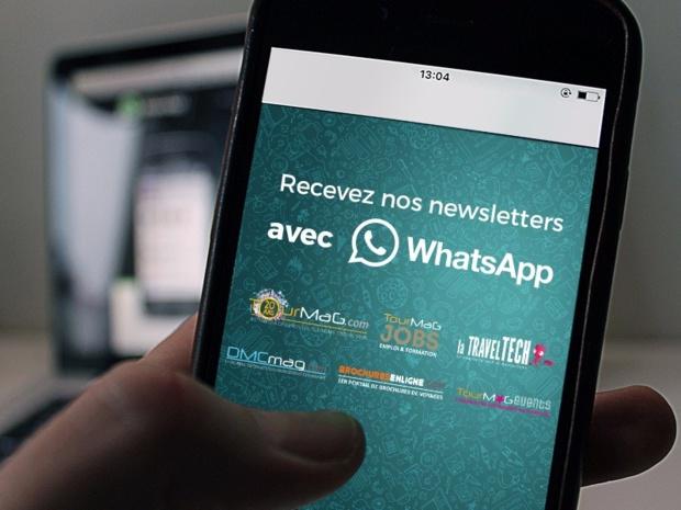 Simplifiez-vous la vie. Inscrivez-vous aux newsletters du groupe TourMaG sur WhatsApp.