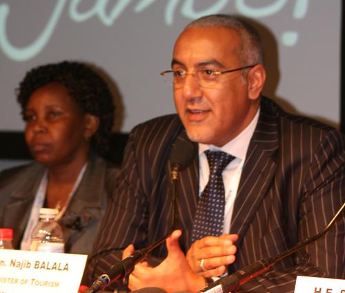 JB/TourMag.com Le ministre du Tourisme du Kenya, Najib Balala