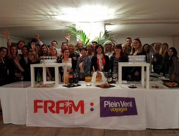 Dès la rentrée 2018, les commerciaux FRAM et Plein Vent partiront à la rencontre des agents de voyages de 65 villes de France - DR : FRAM