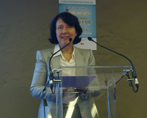 Barbara Dalibard, Directrice Générale de SNCF Voyage